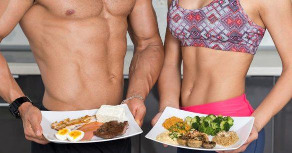 Potraviny na rast svalov