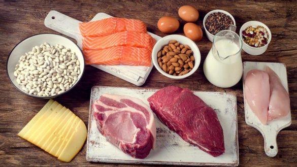 Potraviny s vysokým obsahom bielkovín